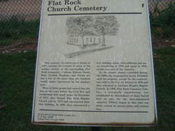 Flatrock Cemetery
