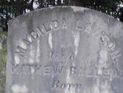 Macilda <i>Lawson</i> Ballew