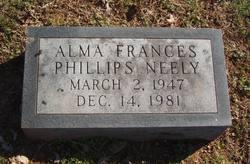 Alma Frances <i>Phillips</i> Neely
