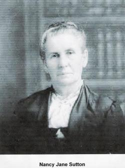 Nancy Jane <i>Sutton</i> Baughman