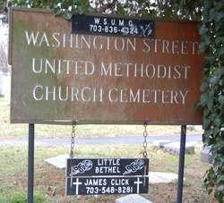 Washington Street United Methodist Church Cemetery