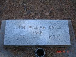 John William Jack Bates