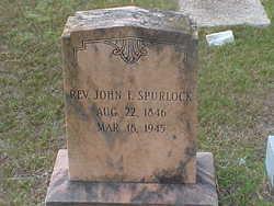 Rev John Fedrick Spurlock