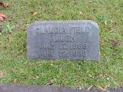 Claudia A. <i>Field</i> Allen
