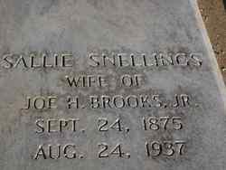 Sallie <i>Snellings</i> Brooks