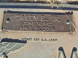 Green Edward Miller, Sr