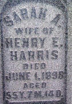 Sarah A. Harris