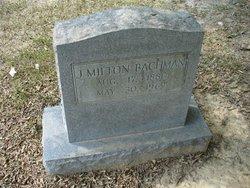 J Milton Bachman