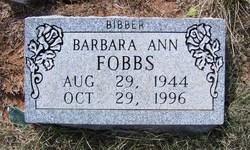 Barbara Ann Fobbs