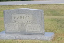 Alsie Jane <i>McSwain</i> Hardin