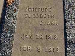 Gertrude Elizabeth Clark