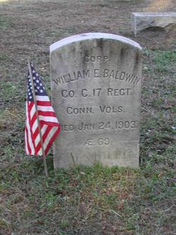 Corp William E Baldwin