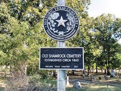 Old Shamrock Cemetery