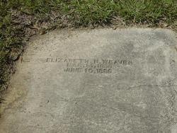 Elizabeth Hannah <i>Beal</i> Weaver