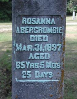 Rosanna <i>Bradley</i> Abercrombie