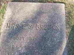 Mrs E. S. (Mattie) Brooks
