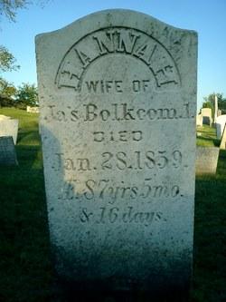 Hannah <i>Crossman</i> Bolkcom
