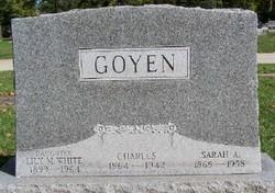 Sarah Ann <i>Mullis</i> Goyen