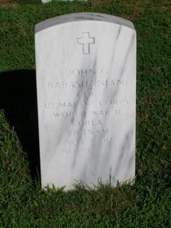 John G Babashanian
