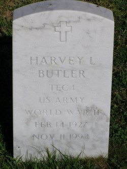 Harvey L Butler