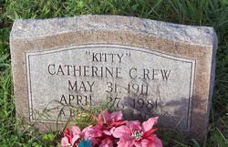 Catherine C <i>Kitty</i> Rew