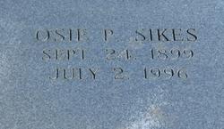 Osie Pearl <i>Price</i> Sikes