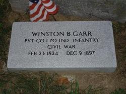 Pvt Winston B. Garr