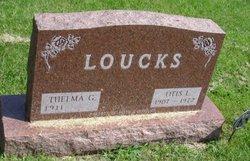 Thelma Genevieve <i>Maynard</i> Loucks