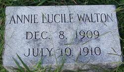 Annie Lucile Walton