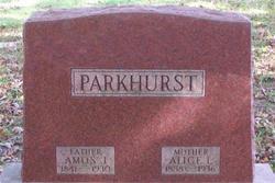 Amos James Parkhurst