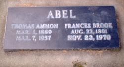 Frances <i>Brooks</i> Abel