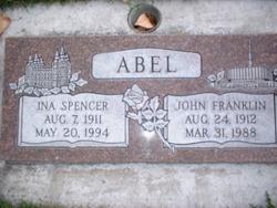 Ina Louise <i>Spencer</i> Abel