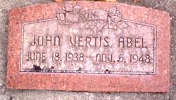 John Vertis Abel