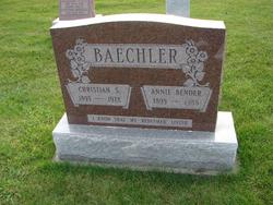 Annie <i>Bender</i> Baechler