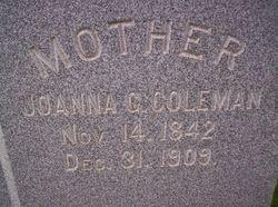 Joanna G. Coleman