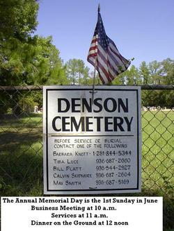 Denson Cemetery