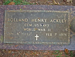 Rolland Henry Ackley