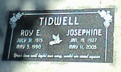 Roy Edwin Tidwell