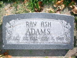 Ray Ash Adams