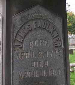 Maj James Samuel Faulkner