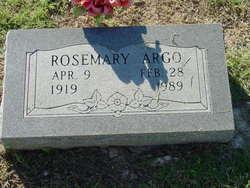 RoseMary Argo