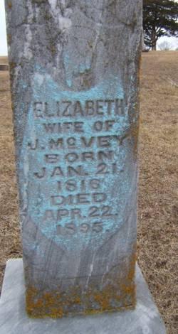 Elizabeth <i>Corrick</i> McVey