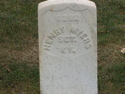 Sgt Henry <i>Mayer</i> Myers