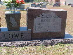Hazel Idell <i>Pyles</i> Lowe