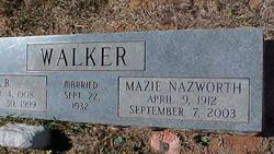 Mazie Lou <i>Nazworth</i> Walker