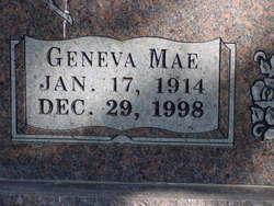 Geneva Mae Ogle