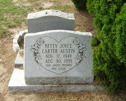 Betty Joyce <i>Carter</i> Austin