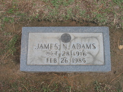 Dr James Nathaniel Adams, Sr