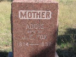 Addie Aurelia <i>Jarnagin</i> Fox