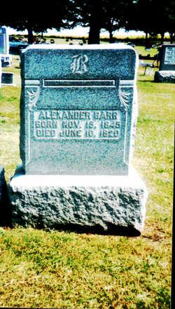 Alexander B Barr